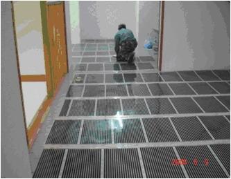 теплый пленочный пол термодар с инфракрасным обогревом cnt heating fil